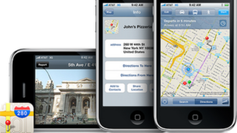 iOS 5 still Powered with Google Maps