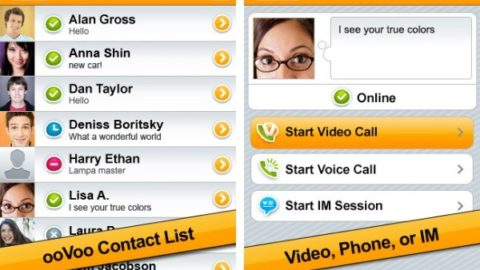 ooVoo releases its webcam wares to iOS