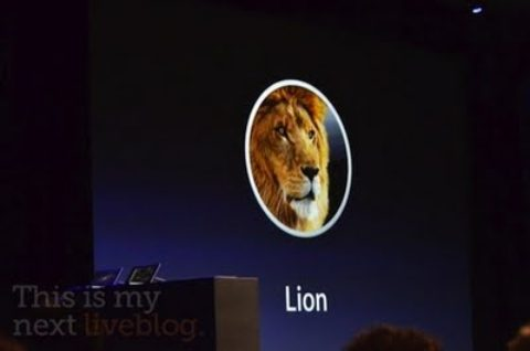 Mac OS X Lion coming to Mac App Store in July, includes over 250 new features