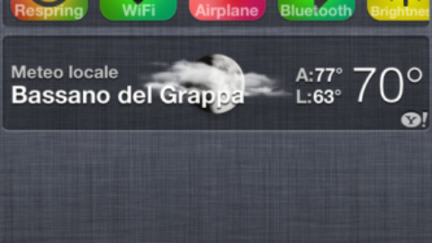 UISettings: First Notifications Center Widget in Cydia: Download Free