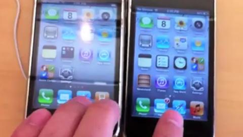 Speed Test Challenge Between iOS 5 & iOS 4.3.3 [Video]
