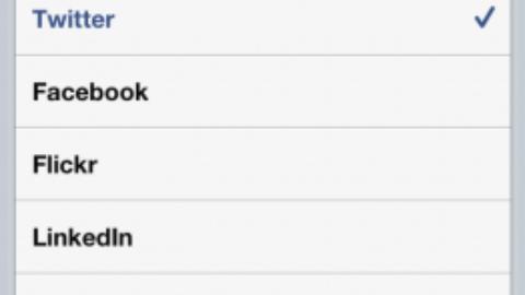 iOS 5 Include Facebook, Myspace, LinkedIn And Flickr