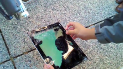 iPad 2 Smart Cover Drop Test [Video]