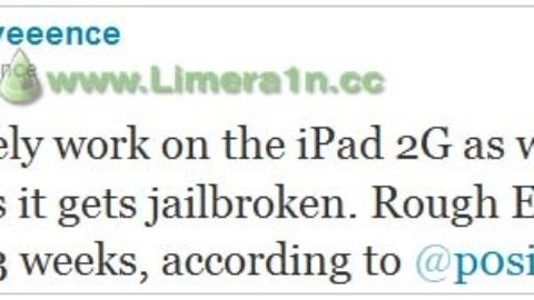 Jailbreak iPad 2 within 3 Weeks – Will Not be Greenpois0n