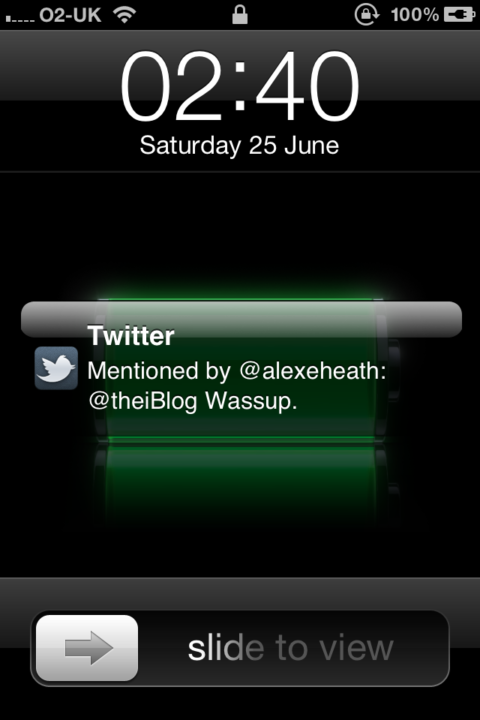 New Notification System on iOS 5 Beta 2 [Screenshots]
