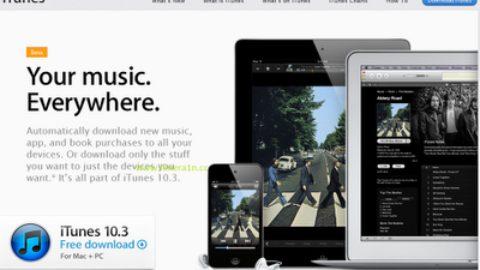 Download iTunes 10.3 Mac & PC