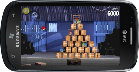 Angry Birds is Now Available For Windows Phone 7