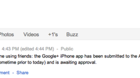 Google+ iOS App Is Awaiting Approval From Apple [Confirmed]