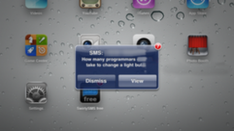 With Swirlymessage You Can Send SMS/MMS From Your iPad 2 3G