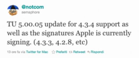 Save 4.3.4 SHSH Blobs – iPhone 4, 3GS, iPod Touch 4G, 3G, iPad 1, 2 with TinyUmbrella 5.00.05