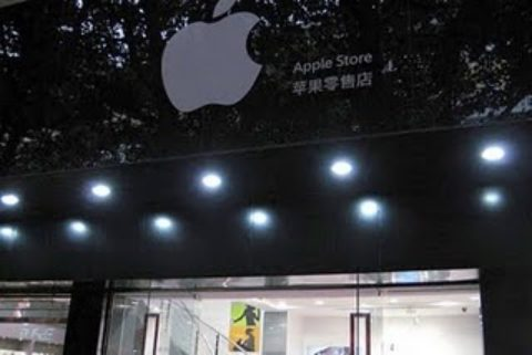China even fakes Apple Store