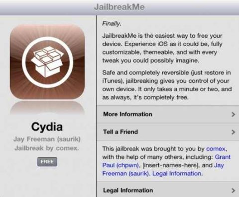 Jailbreak iPad 2 iOS 4.3.3, 4.3.2, 4.3.1, 4.3 with JailbreakMe Leaked [Video]