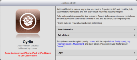 JailbreakMe.com reaches 2 million users!