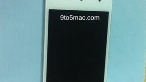 Leaked Photo's Of White iPod Touch 5G