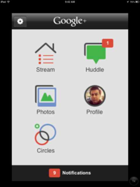 Google+ App For iOS Updated to Add iPad And iPod Touch Support