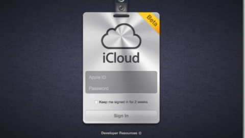 iCloud Is Online For Developers