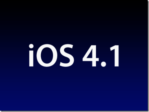 Downgrade iOS 4.3.5 To 4.1 On iPhone 3GS