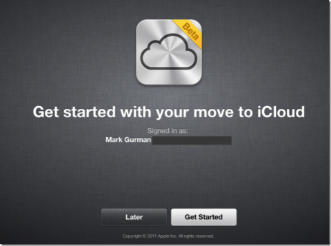 Now, MobileMe to iCloud Transition Is Available For Developers