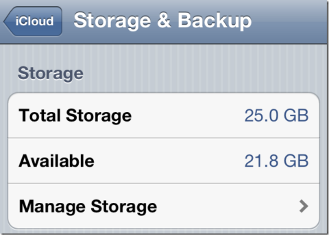 MobileMe Users Will Keep Their 20GB Of Storage On iCloud