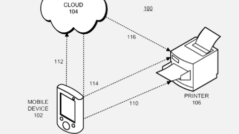 Apple printing drivers on IOS | OS X [Apple patents]